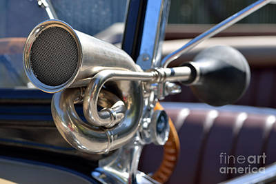 Convertible Photograph - Horn On 1929 Chevrolet International 2ac by George Atsametakis