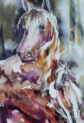 Painting - Horse Power by Donna Acheson-Juillet