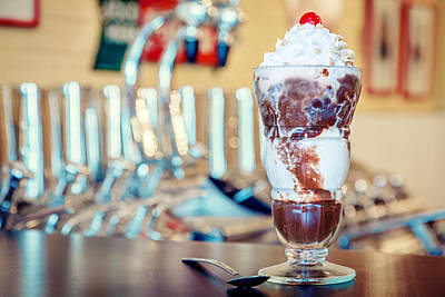 Photograph - Hot Fudge Sundae by Alexey Stiop