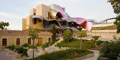 Hotel Marques De Riscal, Elciego, La Art Print by Panoramic Images