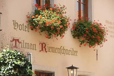 Photograph - Hotel Riemenschneider by Christian Zesewitz