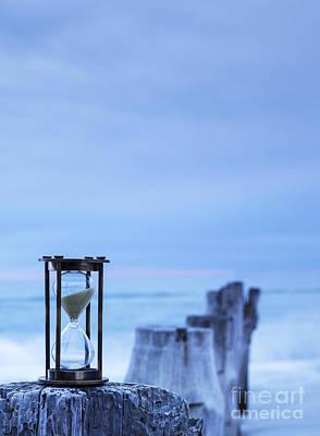 Hourglass Blue Sky Art Print