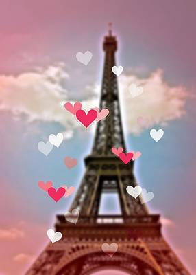 Photograph - Pink Paris by JAMART Photography
