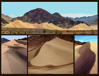 Death Valley Photograph - Ibex Dunes by David Salter