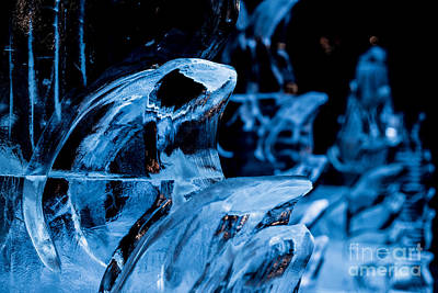 Photograph - Icicles by Franz Zarda