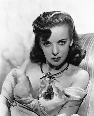 1940s Fashion Photograph - Ida Lupino, Warner Bros. Portrait by Everett