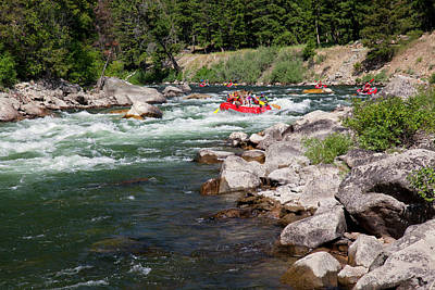 Salmon River Photograph - Idaho, Near Stanley, Salmon River by Jamie and Judy Wild