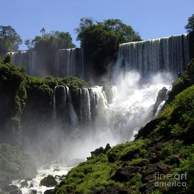 Photograph - Iguassu Falls by Barbie Corbett-Newmin