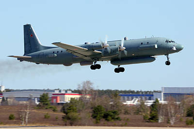 Photograph - Il-20pp Reconnaissance Aircraft by Artyom Anikeev