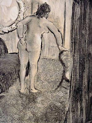 Illustration From La Maison Tellier By Guy De Maupassant Art Print by Edgar Degas
