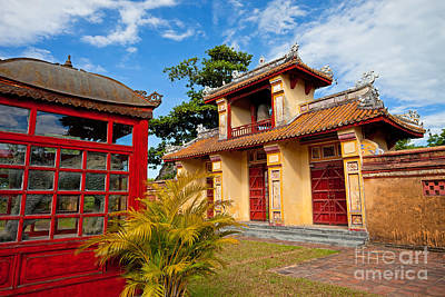 Imperial City Of Hue Vietnam Art Print by Fototrav Print