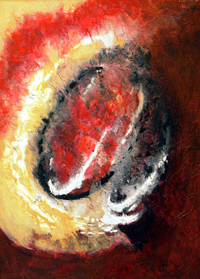 Painting - In The Beginning by Irene Hurdle
