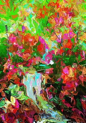 Digital Art - In The Woods by David Lane