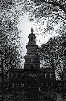 Photograph - Independence Hall by David Armstrong