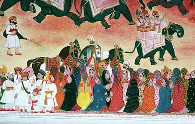 Holi Painting - India Hindu Festival by Granger