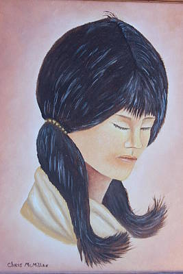 Painting - Indian Maiden by Christine McMillan
