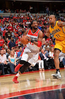 Photograph - Indiana Pacers V Washington Wizards  - by Jesse D. Garrabrant