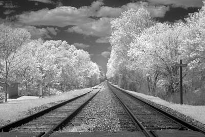 Photograph - Infrared View Of Rural Alabama by Carol M Highsmith
