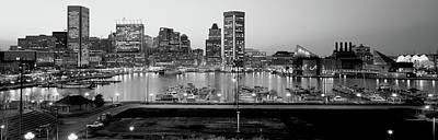 Baltimore Inner Harbor Photograph - Inner Harbor, Baltimore, Maryland, Usa by Panoramic Images