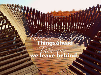 Photograph - Inspirational Saying by Joan Reese