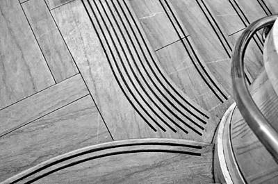 Intersection Of Lines And Curves Art Print
