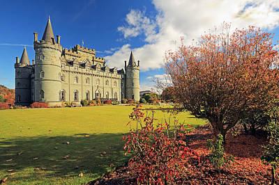 Photograph - Inveraray Castle by Grant Glendinning