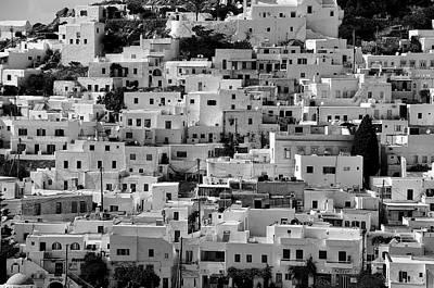 B Photograph - Ios Town by George Atsametakis