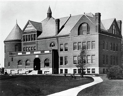 Art Print featuring the photograph Iowa State University, C1900 by Granger