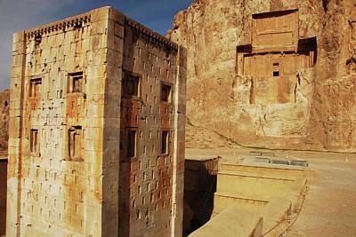 Tomb Photograph - Iran, Fars Province, Shiraz by Stephanie Rabemiafara
