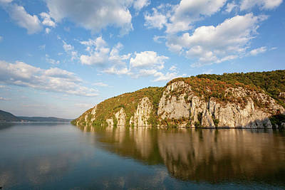 Romania Photograph - Iron Gate, Portile De Fier, Gorge by Martin Zwick