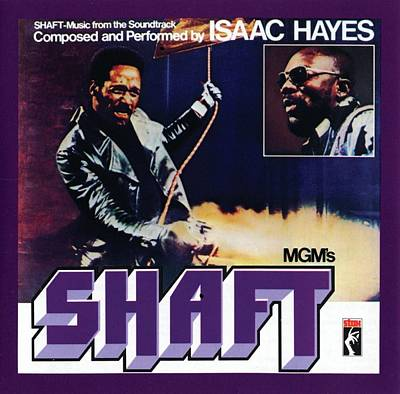 Hayes Digital Art - Isaac Hayes -  Shaft by Concord Music Group