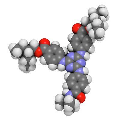 Iscotrizinol Sunscreen Molecule Art Print by Molekuul