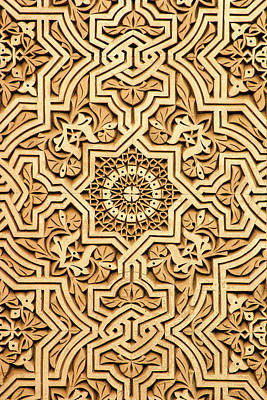 Islamic Plasterwork Art Print by PIXELS  XPOSED Ralph A Ledergerber Photography