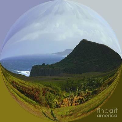 Surrealism Photograph - Island Portraits Coastal Shores Guam by Scott Cameron