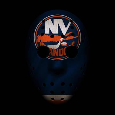 Islanders Jersey Mask Art Print