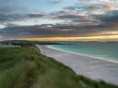 Berneray Photograph - Isle Of Berneray (bearnaraidh by Martin Zwick