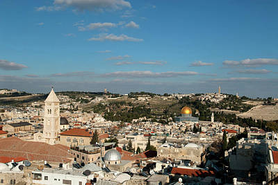 Olive Photograph - Israel, Jerusalem by David Noyes