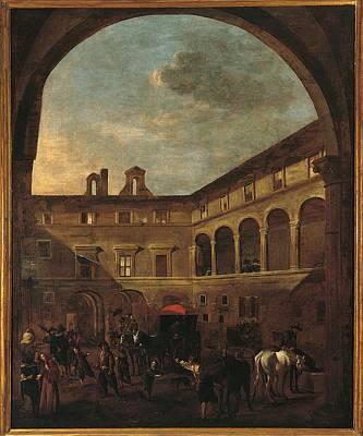 Italy, Lazio, Rome, Palazzo Koch Art Print by Everett