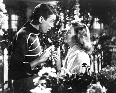 1940 Movies Photograph - It's A Wonderful Life  by Silver Screen