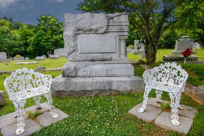 Photograph - jack Daniel's Grave by Robert Hebert