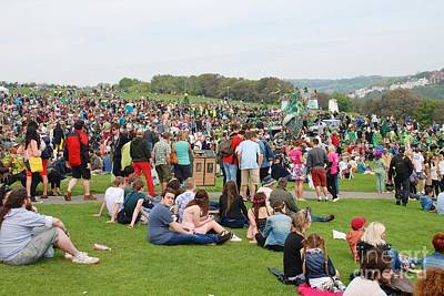 Photograph - Jack In The Green Festival 2014 by David Fowler