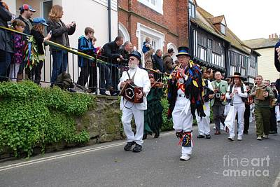 Firefighter Patents Royalty Free Images - Jack In The Green festival Hastings Royalty-Free Image by David Fowler