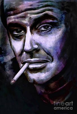 Jack Nicholson Digital Art - Jack Nicholson by Andrzej Szczerski