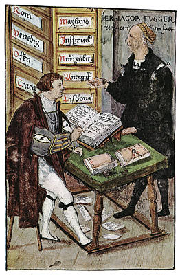 Employer Painting - Jacob Fugger (1459-1525) by Granger