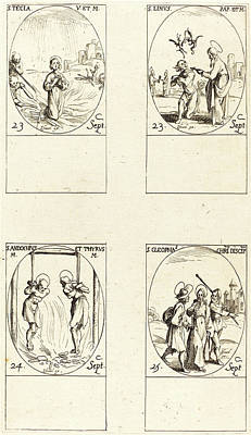 Linus Wall Art - Drawing - Jacques Callot, French 1592-1635 by Litz Collection