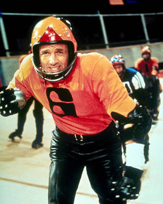 James Caan Photograph - James Caan In Rollerball  by Silver Screen