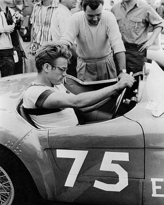 Indiana Images Photograph - James Dean by Retro Images Archive