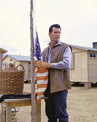 The Great Escape Photograph - James Garner In The Great Escape by Silver Screen