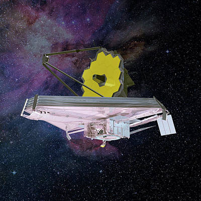 James Webb Space Telescope Art Print