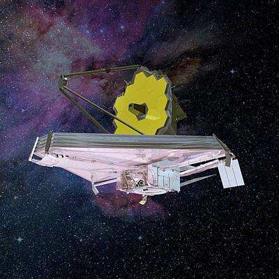 Stellar Photograph - James Webb Space Telescope by Nasa